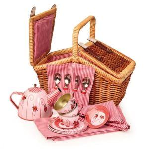 Egmont Toys Panier dînette Heure du thé Coccinelle