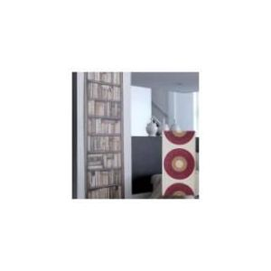 Panneau japonais tamisant Cercles (45 x 260 cm)
