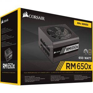 Corsair RM650x - Bloc d'alimentation PC modulaire 650W certifié 80 Plus Gold