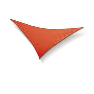 Blooma Voile d'ombrage Mahu triangle rouge vegas 300 cm