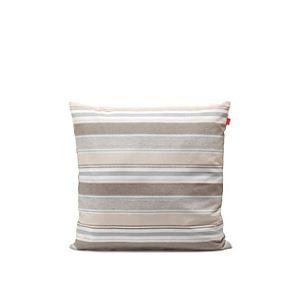 Esprit Housse de coussin bayadère Coloured en coton / polyester (50 x 50 cm)