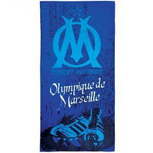 Cti Drap de bain OM Crampons bleu (85 x 160 cm)