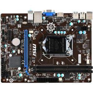 MSI H81M-E33 - Carte mère socket LGA 1150