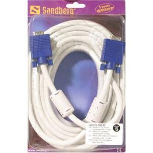 Sandberg 502-02 - Câble écran VGA LUX10 m
