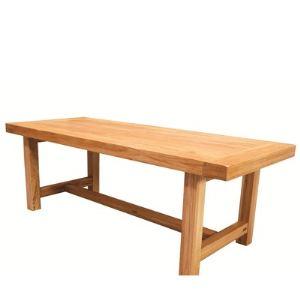 La bresse Table à manger 10 couverts en bois massif