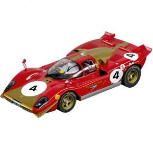 Carrera Toys 23798 - Ferrari 512s Berlinetta No.4 pour circuit Digital 124