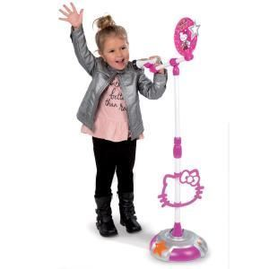 Smoby Microphone sur pied Hello Kitty