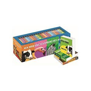 Editions Piccolia Coffret 20 minis livres animaux