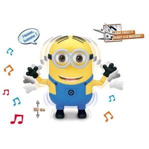 Simba Toys Figurine interactive dansante Minion Dave 20 cm - Moi, Moche & Méchant 2