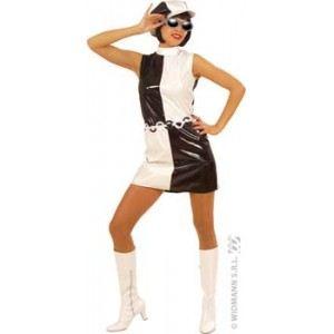 Widmann Déguisement années 80 disco rock pour femme (taille M)