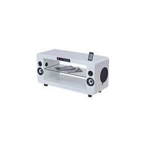 SoundVision SV-200 - Meuble TV avec système home-cinéma 2.1 intégré