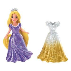 Mattel Disney Princesses Raiponce et sa tenue Magiclip