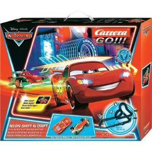 Carrera Toys Go!!! 62332 - Circuit de voitures Disney/Pixar Neon Shift'n Drift