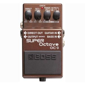 Boss Effect OC-3 - Pédale Super Octave