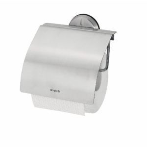 Brabantia 427626 - Dérouleur de papier toilette Matt Steel