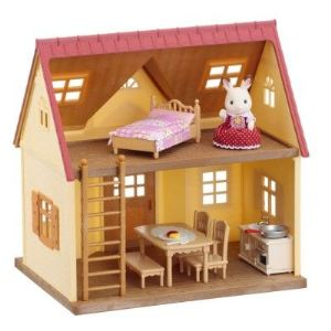 Epoch Sylvanian Families 2778 - Set cottage cozy et fillette lapin