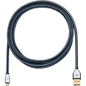 Oehlbach 60043 - Câble USB 2.0 connecteurs plaqué or type A/Micro-B m/m 0,50 m