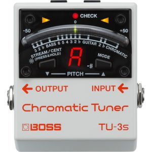 Boss Effect TU-3S Chromatic Tuner