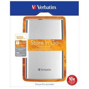 Verbatim Store 'n' Go 3.0 500 Go - Disque dur externe 2.5'' USB 3.0