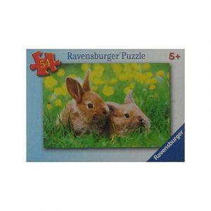 Ravensburger Petits lapins - Puzzle 54 pièces
