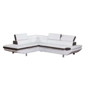 Canapé d'angle à gauche fixe Loft 5 places