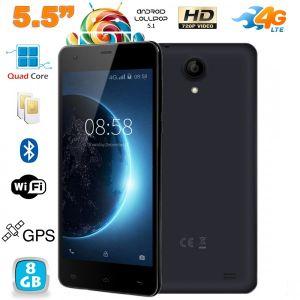 Yonis Y-sa70g8 - Smartphone 5.5 pouces 4G Dual SIM 8 Go