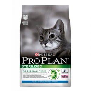 Purina Pro Plan chat stérilisé - Croquette saveur dinde sac de 3 kg