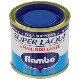 Flambo Laque brillante - 50 ml - Bleu drapeau