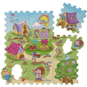 Chicco Tapis puzzle en mousse Candy