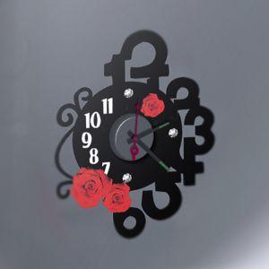 Horloge murale sticker Design Flamenco