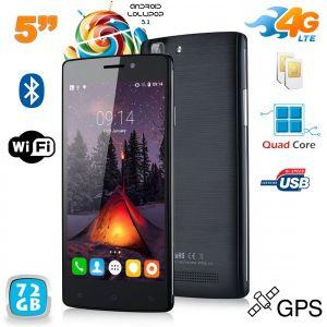 Yonis Y-sa64g72 - Smartphone 4G Android 5.1 Dual SIM 8 Go + carte 64 Go