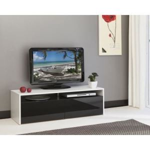 achatmeuble tv noir conforama