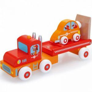 Scratch Camion et voiture de course en bois