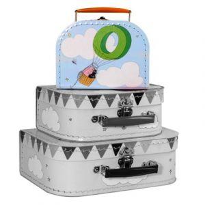 Petit Jour BA227G-PM - Valise en carton Barbaba Petit modèle