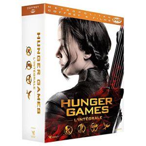 Coffret Intégral Hunger Games : Hunger Games + Hunger Games 2 + L'embrasement + La Révolte (1 + 2)