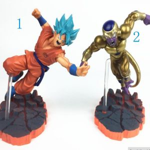 Ceecilio 2 Pièces Dragon Ball Z Son Goku vs Freezer - Ultime Forme Anime PVC Figurines