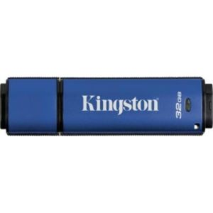 Kingston DTVPM/32GB - Clé USB 2.0 DataTraveler Vault Privacy Managed 32 Go avec cryptage AES