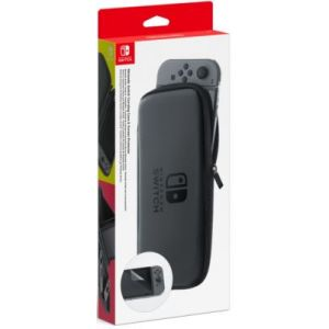 Nintendo Kit de protection Nintendo Switch - Set Accessoires Transport et Protection