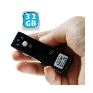 Yonis Mini camera espion appareil photo video Micro SD USB 32 Go