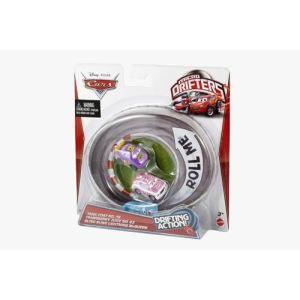 Mattel Pack de 3 véhicules Cars : Tank Coat, Transberry Juice et Flash McQueen bling-bling