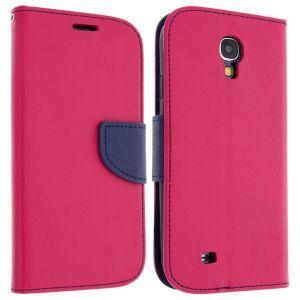 Avizar FOLIO-FANCY-PK-S4 - Étui de protection pour Samsung Galaxy S4 I9500/9505 + Dragonne + Chiffonnette