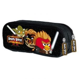 Trousse double Angry Birds Star Wars II