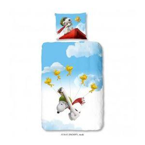 Ogo Parure de couette Snoopy Fly 3D (140 x 200 cm)