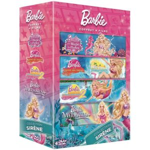 Coffret Barbie 4 films : Collection Sirène