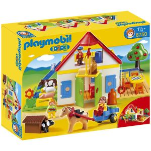 Playmobil 6750 - 1.2.3 : Coffret ferme