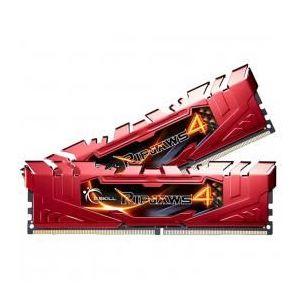 G.Skill F4-2133C15D-8GRR - Barrette mémoire RipJaws 4 Series Rouge 8 Go (2x 4 Go) DDR4 2133 MHz CL15