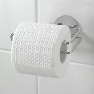 Wenko 18774100 - Porte papier WC Turbo-Loc en inox
