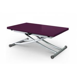 table basse relevable carrera laque violet comparer 2 offres. Black Bedroom Furniture Sets. Home Design Ideas