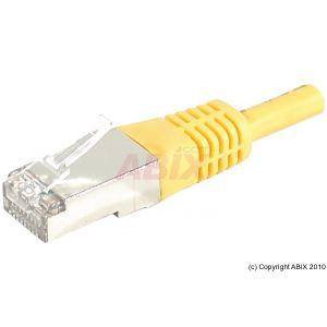 Dexlan 858340 - Cordon réseau RJ45 patch SSTP Cat.6a 25 m