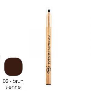 So'Bio Étic Crayon Contour Yeux Tenue Intense 02 Brun Sienne